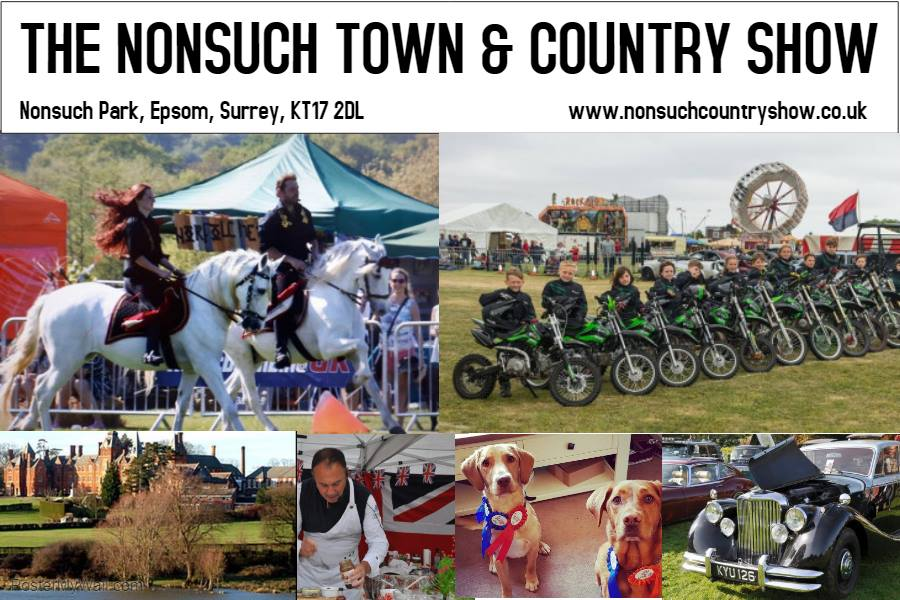 The Nonsuch Town and Country Show. Logo