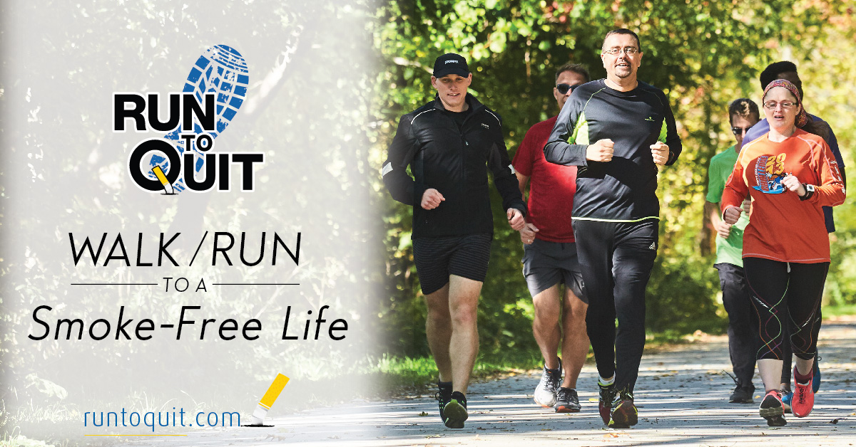 Run to Quit Logo